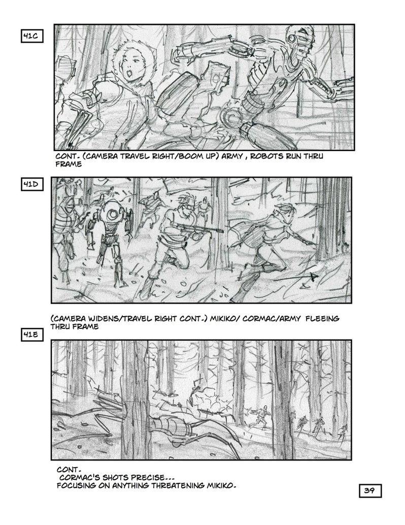 <strong><em>Robopocalypse</em></strong> Storyboard 4