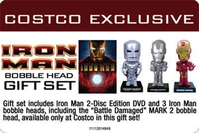 Iron Man Costco Exclusive