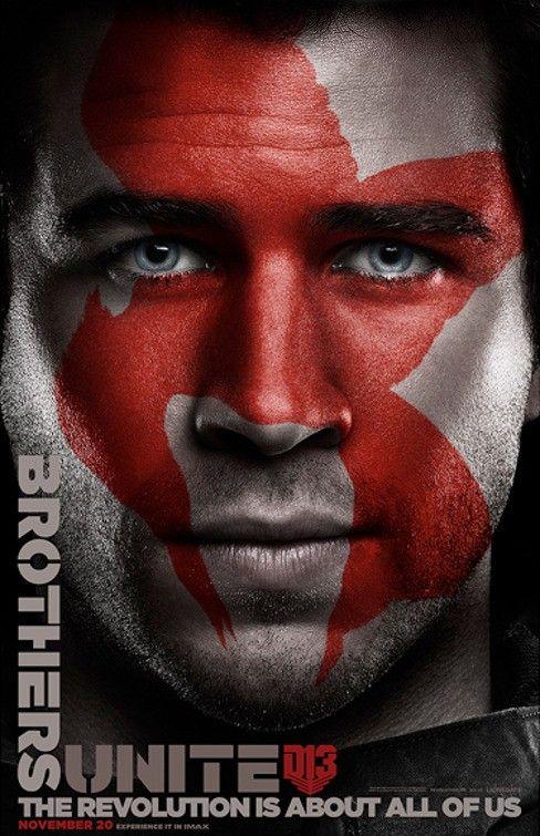 <strong><em>The Hunger Games: Mockingjay Part 2</em></strong> Gale Poster