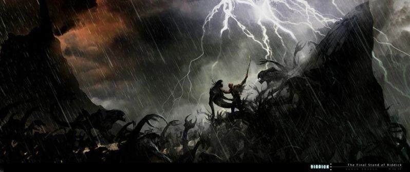<strong><em>Riddick</em></strong> Concept Artwork