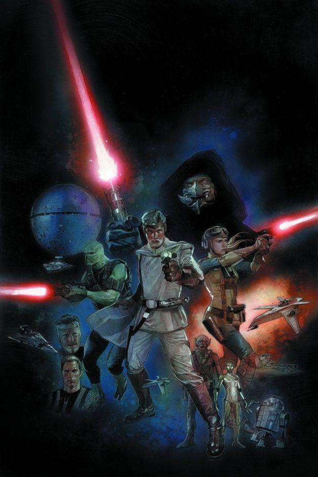 The Star Wars Comic Book Artwork 1