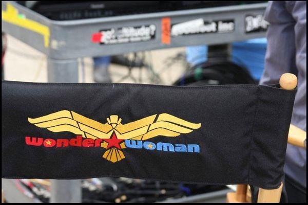 <strong><em>Wonder Woman</em></strong> Logo