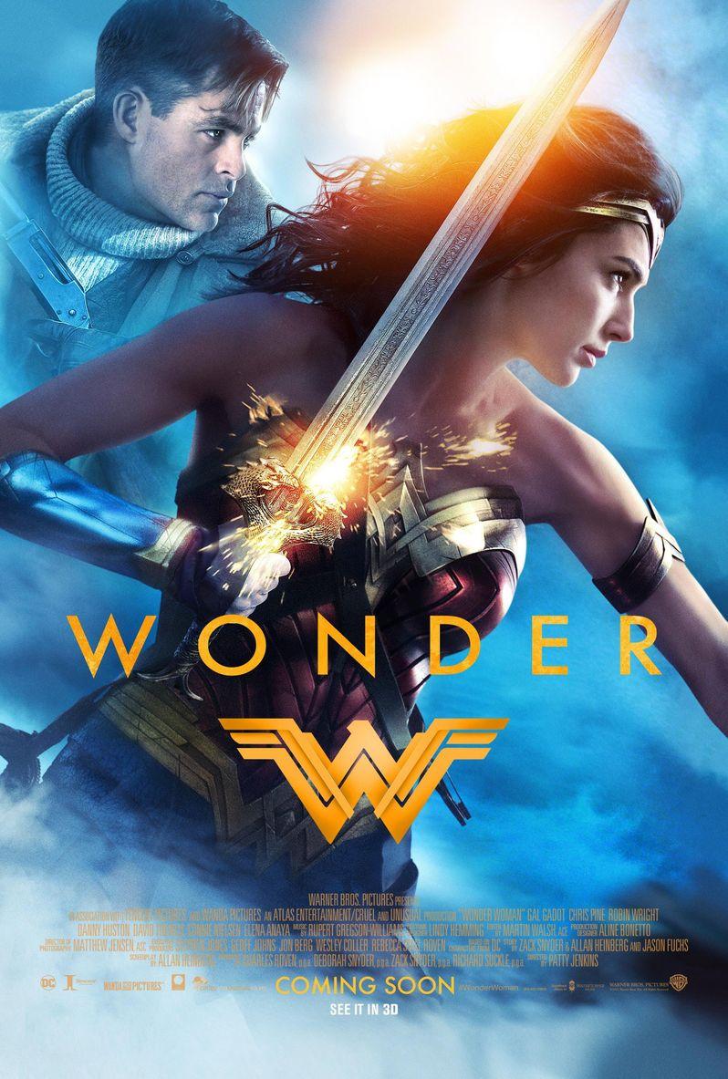 <strong><em>Wonder Woman</em></strong> Steve Trevor poster