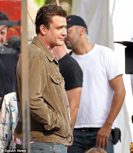 Jason Segel on the Set of <strong><em>The Muppets</em></strong>
