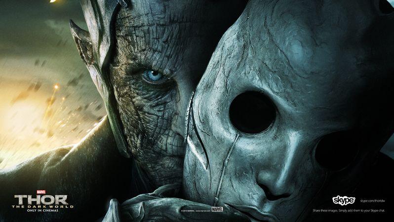 <strong><em>Thor: The Dark World</em></strong> Malekith the Accursed Skype Banner 2