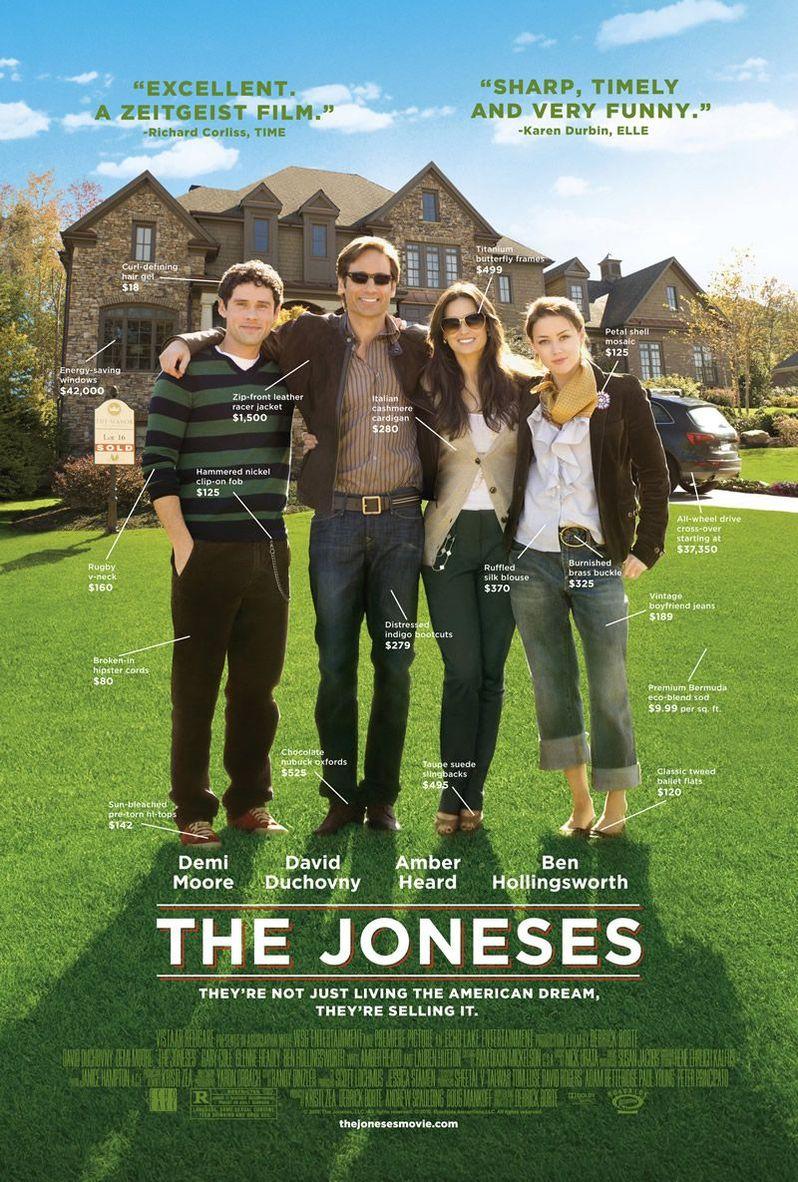 <strong><em>The Joneses</em></strong> Poster