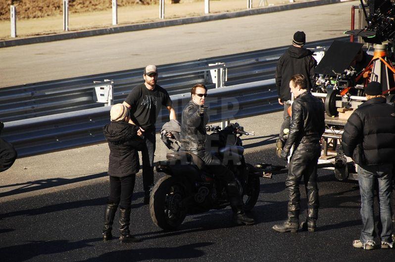 Ghost Rider: Spirit of Vengeance Stunt Photos #5