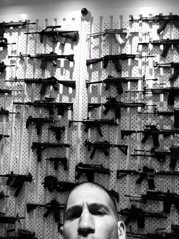 Daredeveil Season 2 Punisher Set Photo