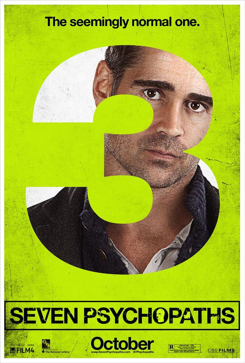 <strong><em>Seven Psychopaths</em></strong> Character Poster #3