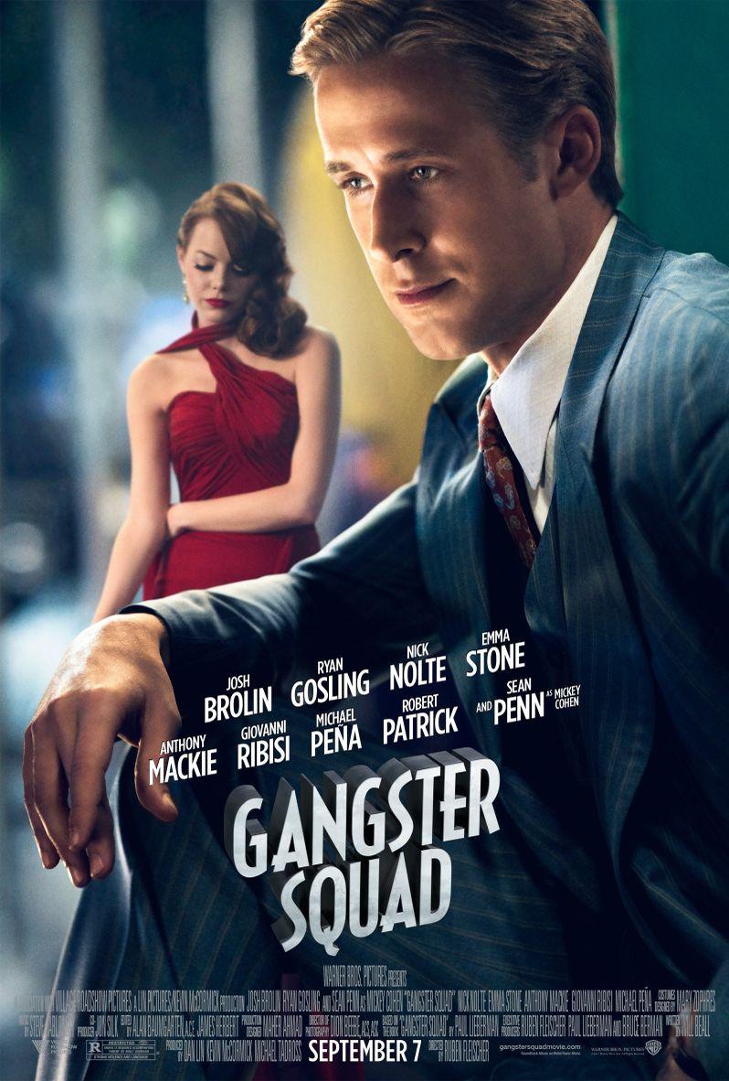 <strong><em>Gangster Squad</em></strong> Ryan Gosling Character Poster