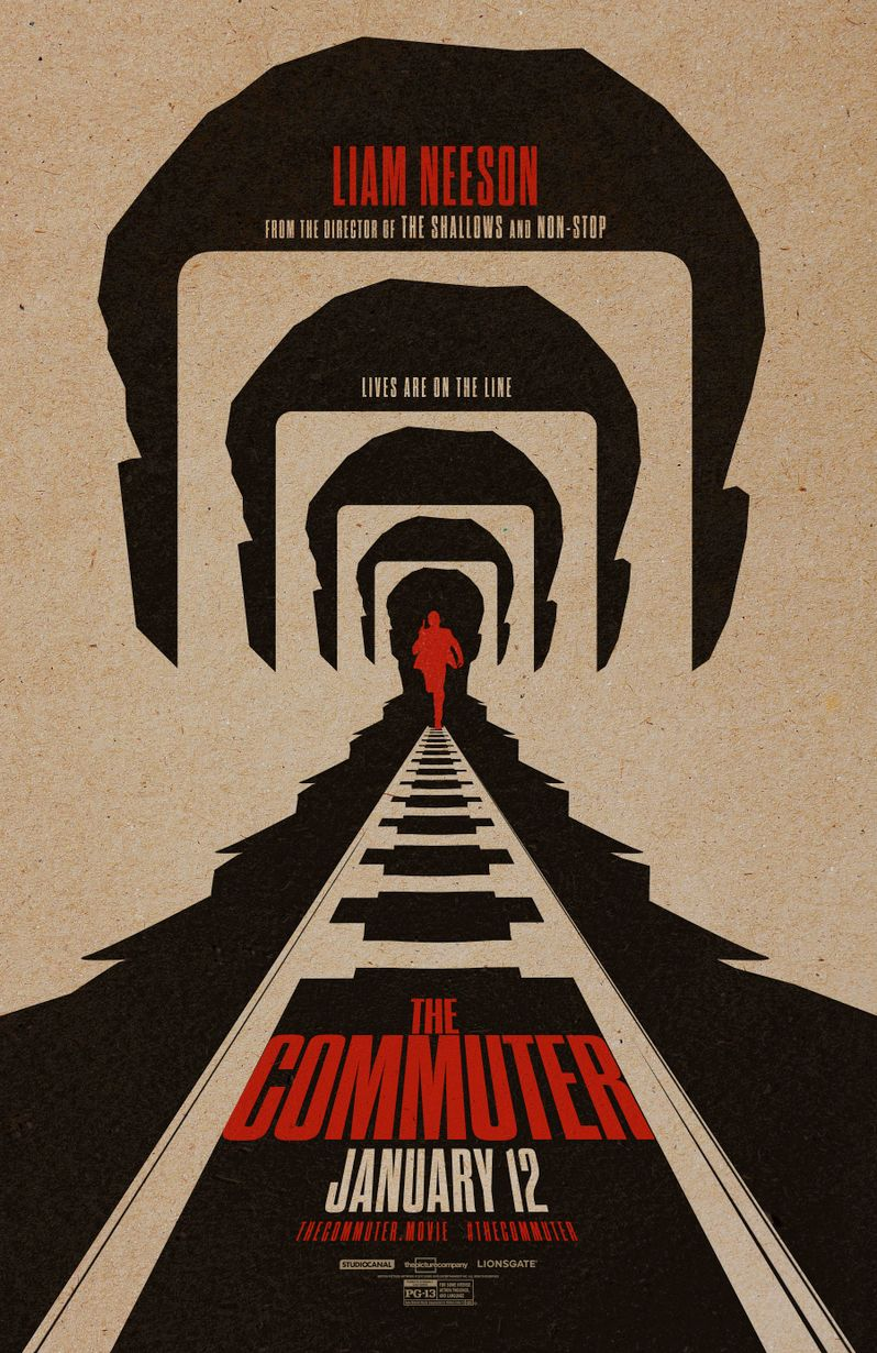 <strong><em>The Commuter</em></strong> Poster