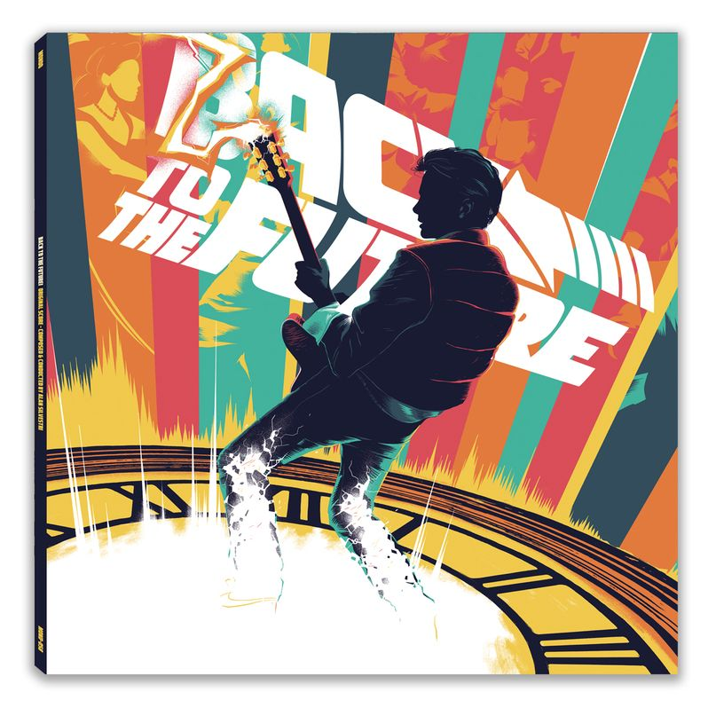 Back to the Future trilogy Soundtrack Vinyl photo 6