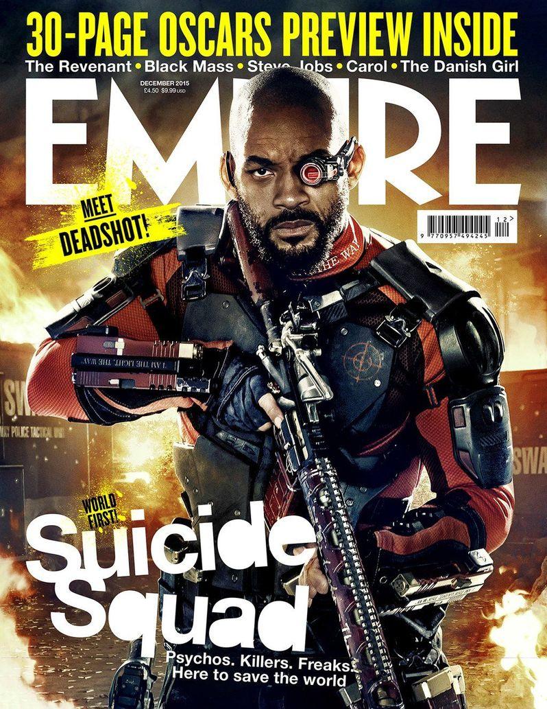 <strong><em>Suicide Squad</em></strong> Empire Cover Deadshot