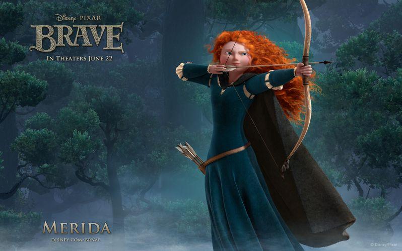 <strong><em>Brave</em></strong> Princess Merida Desktop