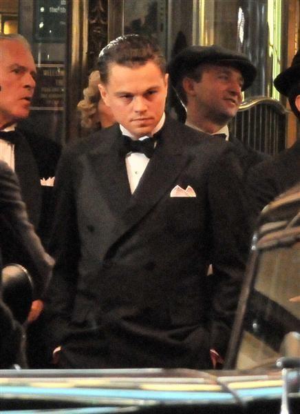 Leonardo DiCaprio as <strong><em>J. Edgar</em></strong> Hoover in <strong><em>J. Edgar</em></strong>