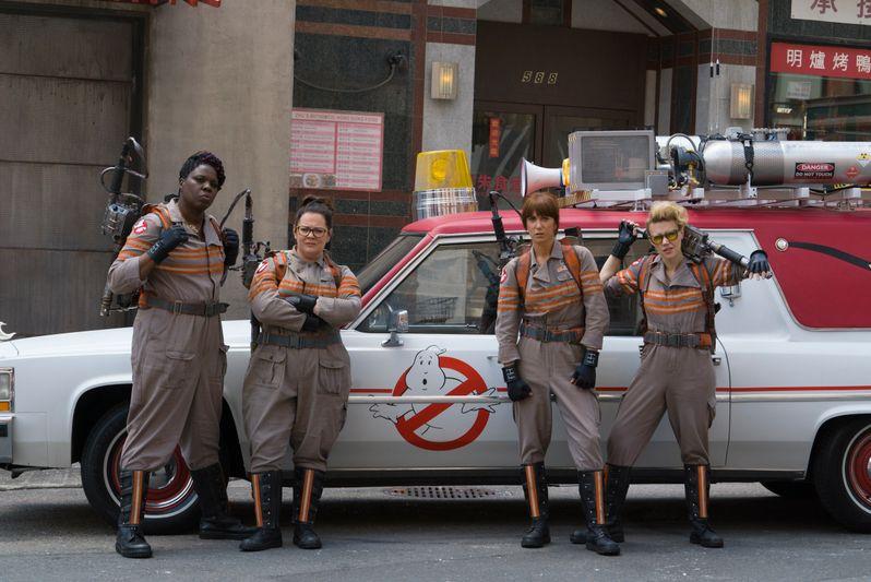 Female <strong><em>Ghostbusters</em></strong> Cast