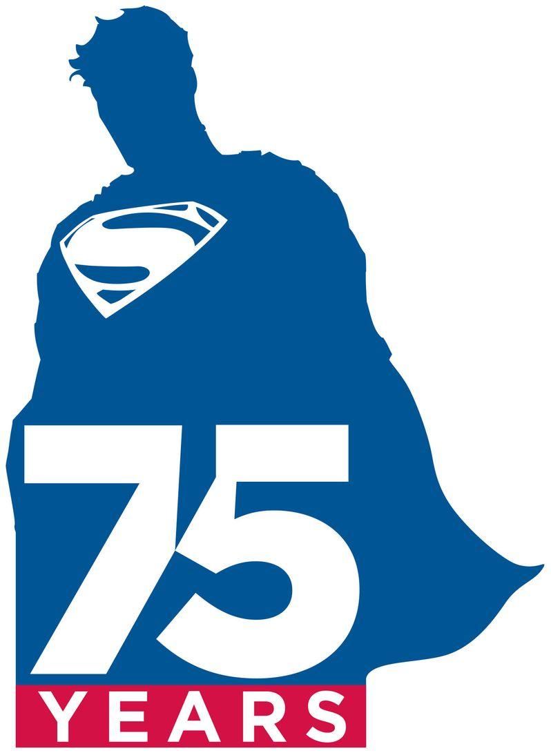 Warner Bros. Superman 75th Anniversary Logo