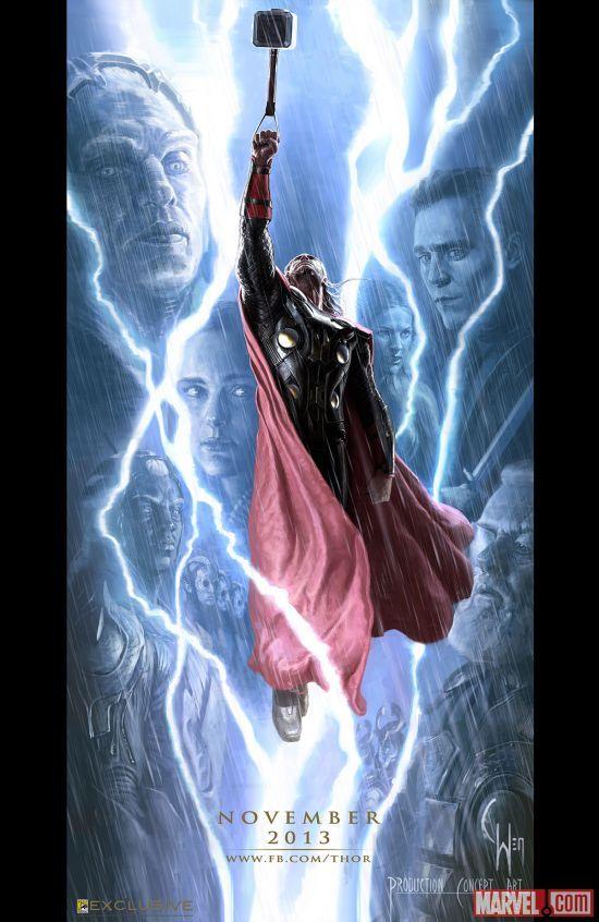 <strong><em>Thor: The Dark World</em></strong> Comic-Con 2013 Concept Art