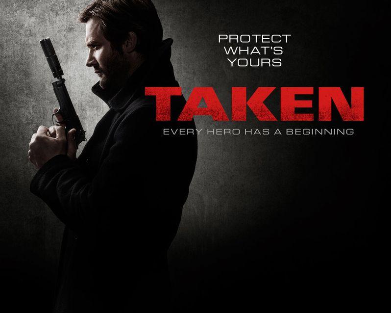 <strong><em>Taken</em></strong> TV Series Poster