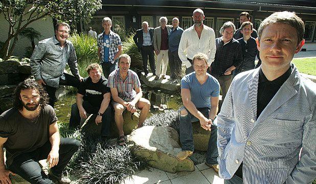 The Hobbit Cast Photo