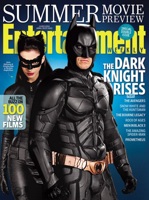 <strong><em>The Dark Knight Rises</em></strong> EW Cover