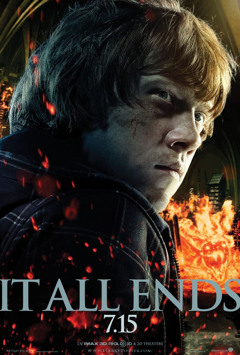 <strong><em>Harry Potter and the Deathly Hallows - Part 2</em></strong> Ron Poster