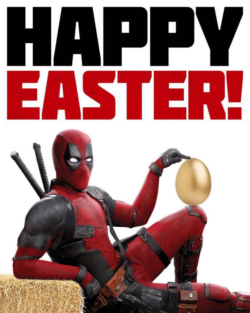 <strong><em>Deadpool 2</em></strong> Easter Poster