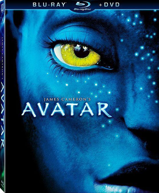 <strong><em>Avatar</em></strong> DVD/Blu-ray artwork