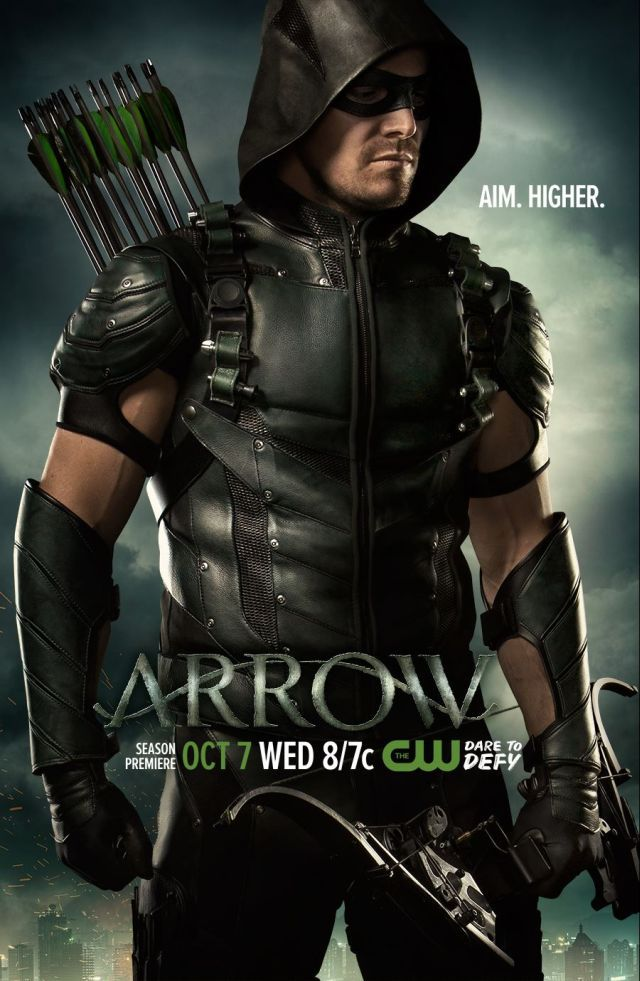 <strong><em>Arrow</em></strong> Season 4 Poster