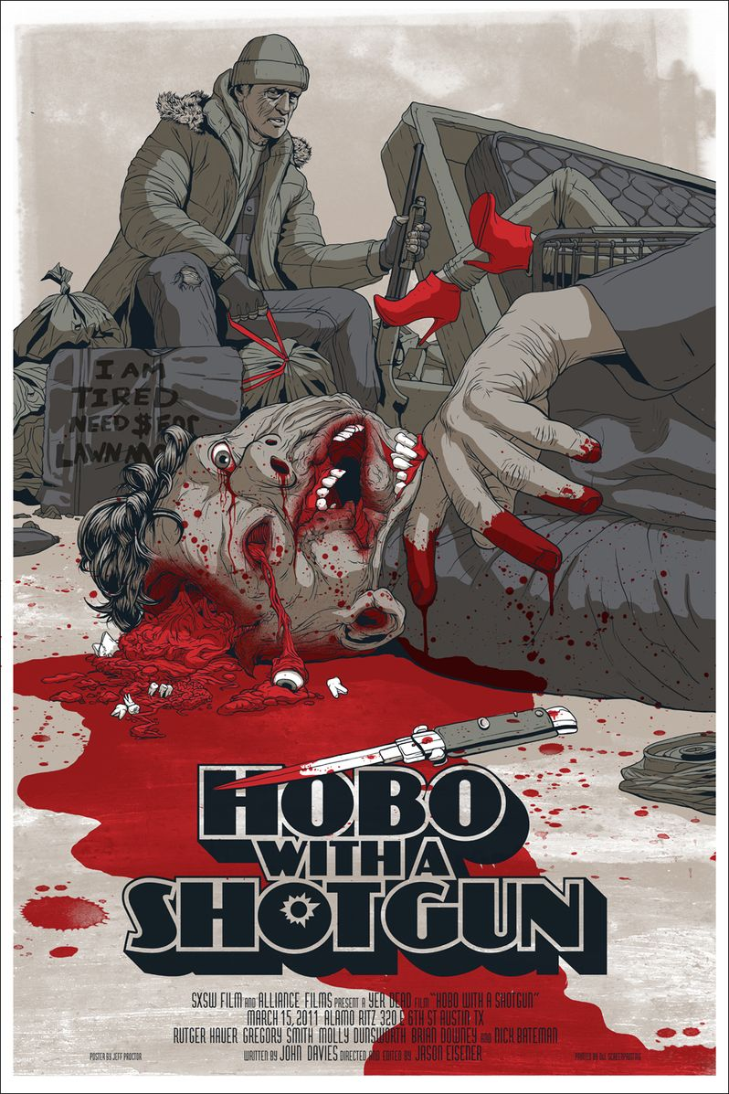 SXSW Collection Hobo With A Shotgun Poster