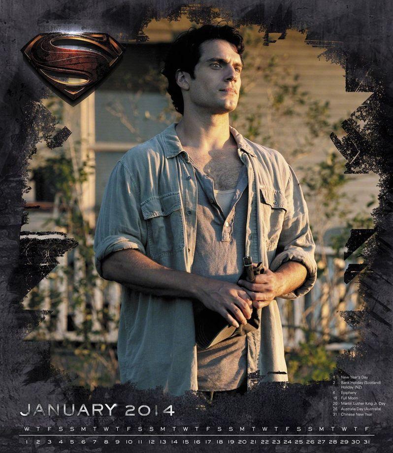 <strong><em>Man of Steel</em></strong> Wall Calendar 6