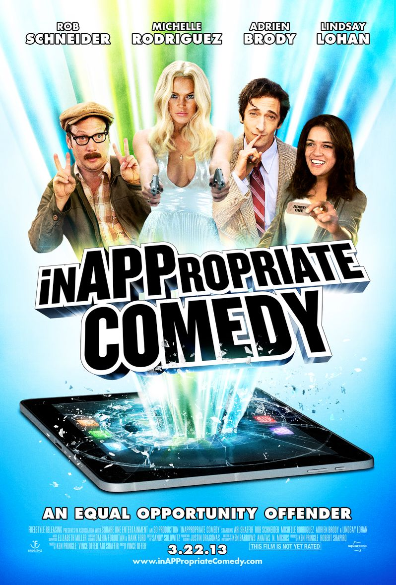 <strong><em>InAPPropriate Comedy</em></strong> Poster
