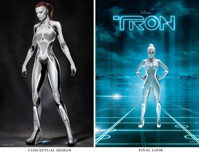 <strong><em>Tron: Legacy</em></strong> Concept Art Image #1