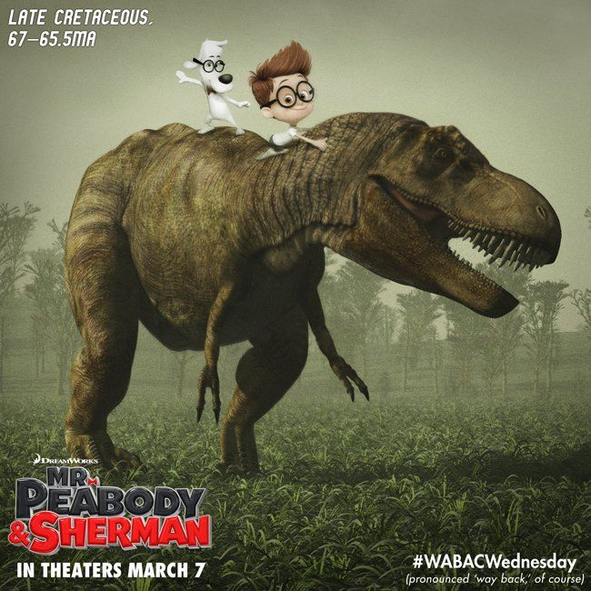 Mr. Peabody Poster 2
