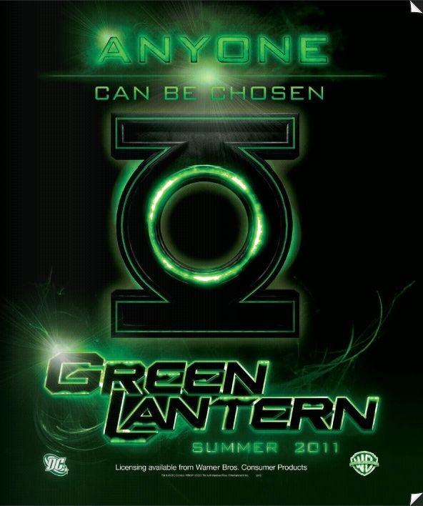 <strong><em>Green Lantern</em></strong> Movie Logo