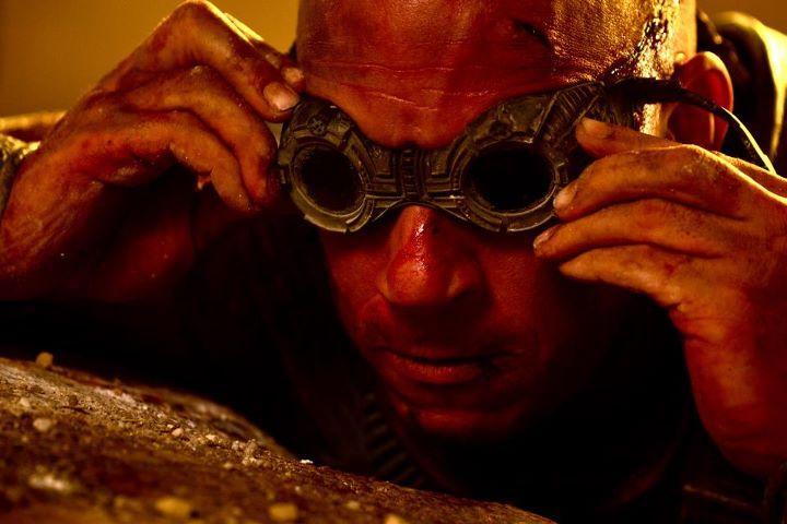 Vin Diesel as <strong><em>Riddick</em></strong>
