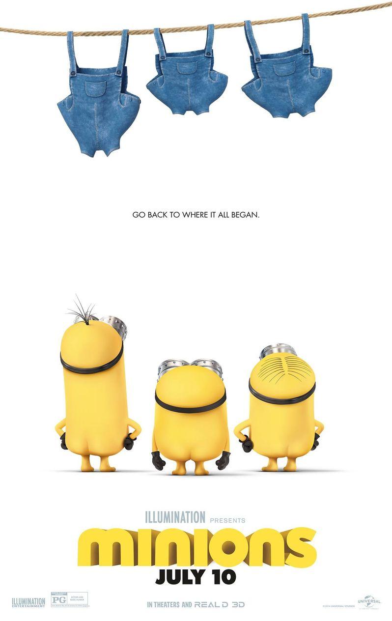 <strong><em>Minions</em></strong> Poster
