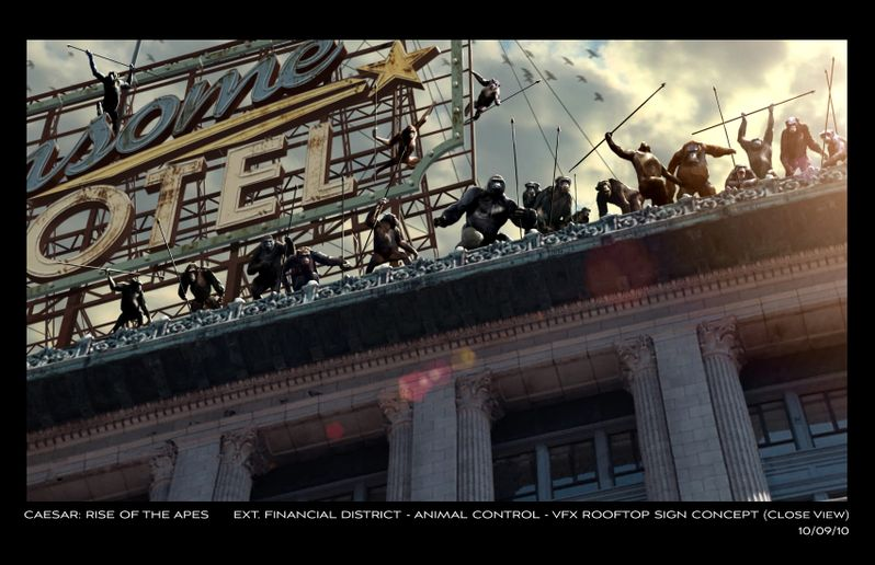 <strong><em>Rise of the Planet of the Apes</em></strong> Concept Art #1
