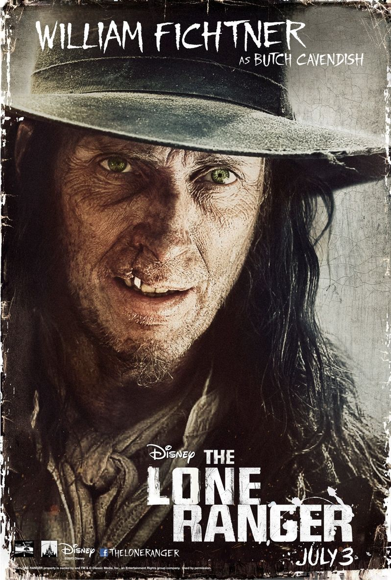 <strong><em>The Lone Ranger</em></strong> Poster with Bucth Cavendish