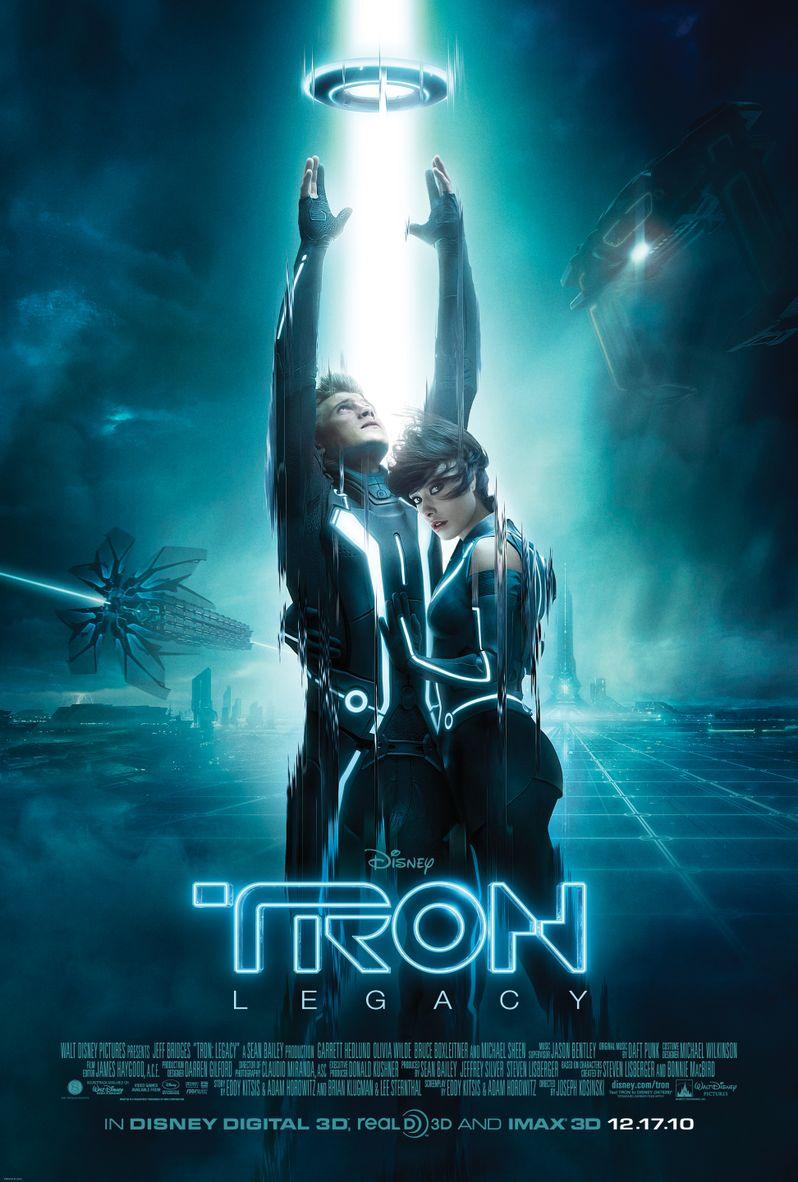 <strong><em>Tron: Legacy</em></strong> Poster