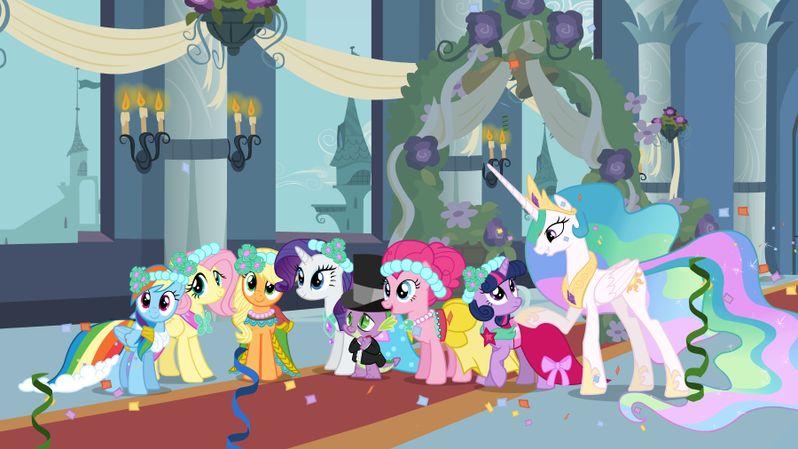 My Little Pony Friendship Is Magic - A Canterlot Wedding Photo #1