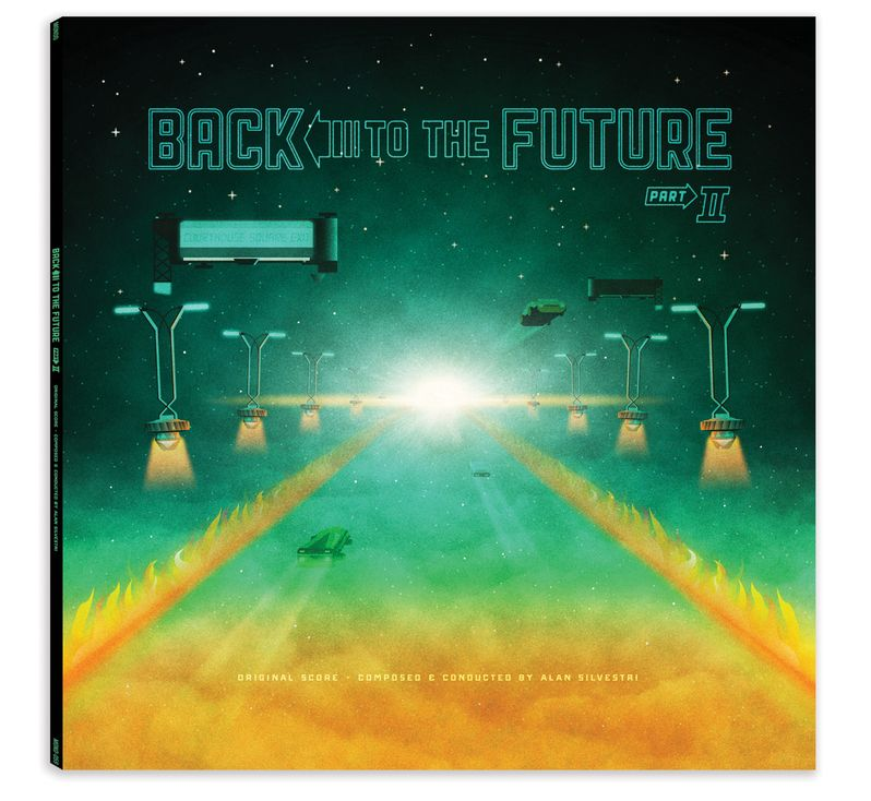 Back to the Future trilogy Soundtrack Vinyl photo 4