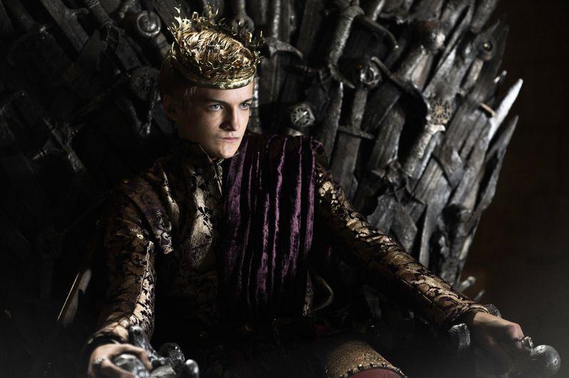 Jack Gleeson as Joffrey Baratheon in <strong><em>Game of Thrones</em></strong>