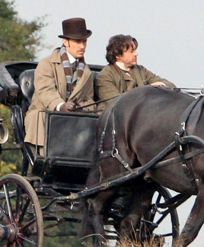 Sherlock Holmes 2 On Set photo 5