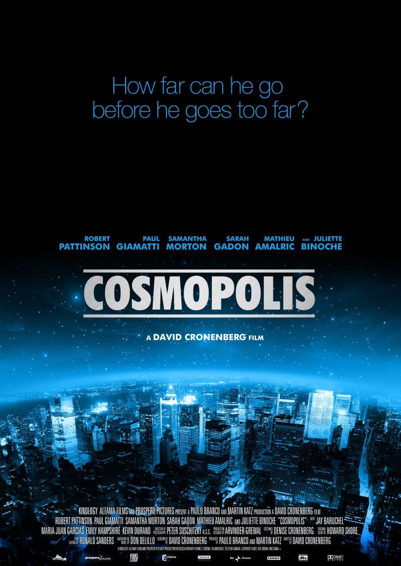 <strong><em>Cosmopolis</em></strong> Poster #2