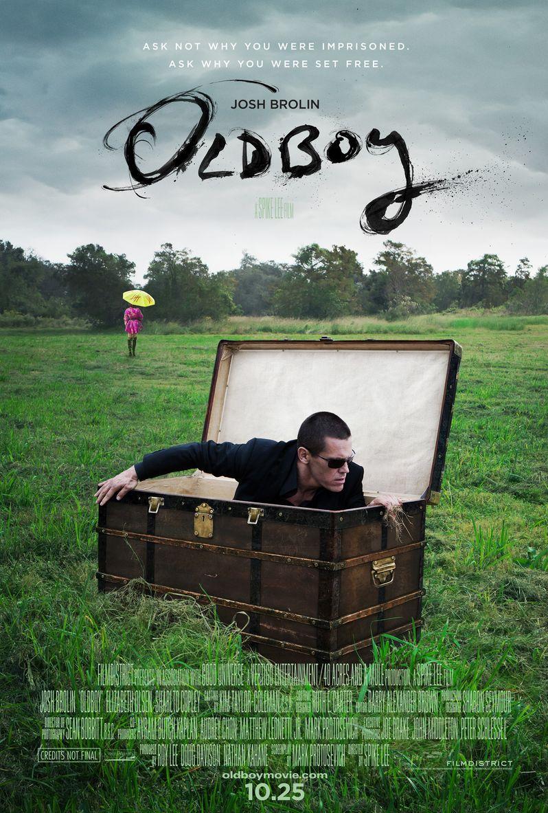 <strong><em>Oldboy</em></strong> Poster