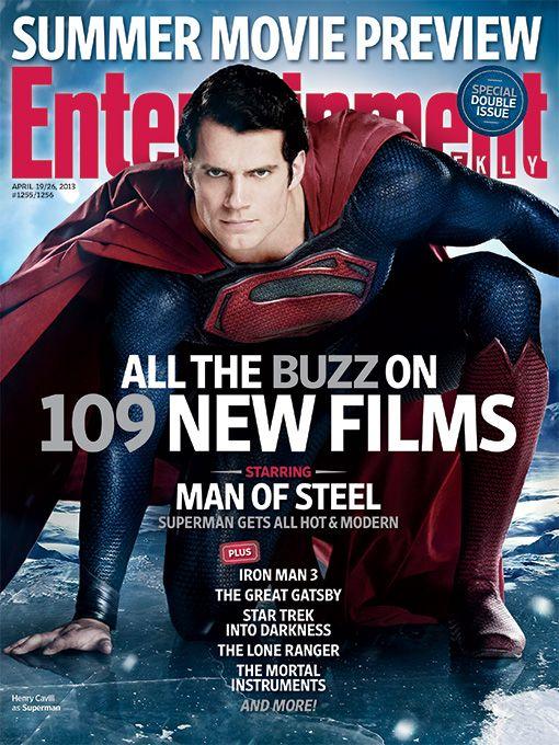 <strong><em>Man of Steel</em></strong> EW Cover