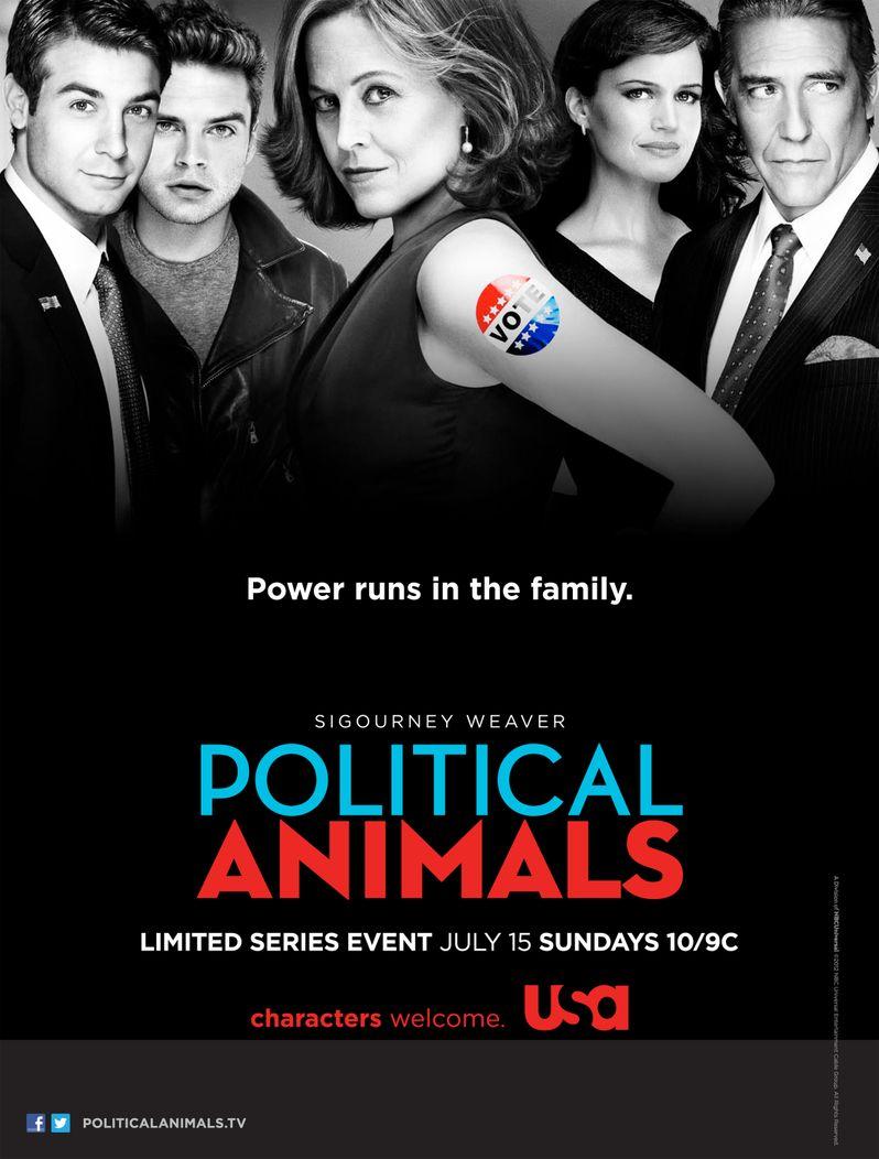 <strong><em>Political Animals</em></strong> Promo Art