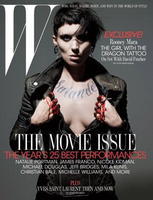 The Girl With the Dragon Tattoo Rooney Mara Photo #1