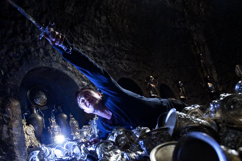 Daniel Radcliffe in <strong><em>Harry Potter and the Deathly Hallows - Part 2</em></strong>